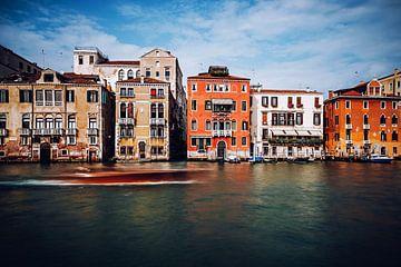 Venice - Palazzi on Canal Grande van Alexander Voss