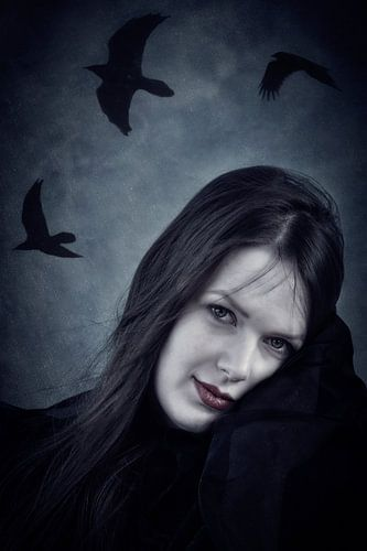 raven bruid van Claudia Moeckel