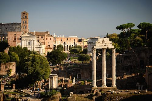 Forum Romanum en Colosseum van Sjoerd Mouissie