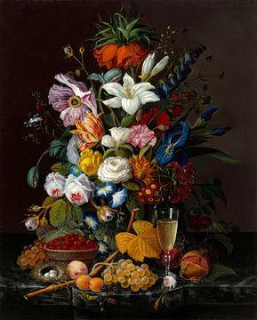 Bouquet victorien, Severin Roesen sur