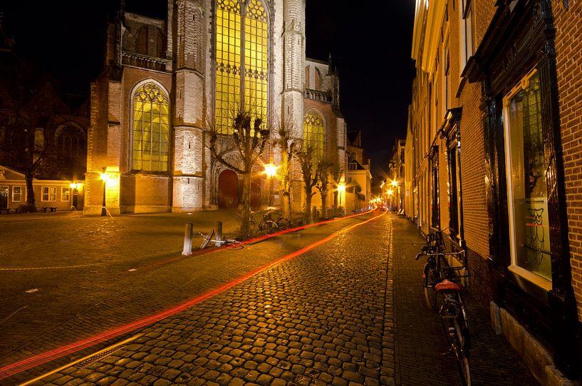 Hooglandse kerk te Leiden van Remco Swiers