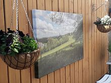 Klantfoto: Uitzicht op Vijlen  in Zuid-Limburg tijdens de Lente van John Kreukniet, op canvas