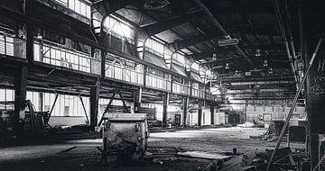 Verlassene Stahlfabrik im Ruhrgebiet - Thyssen Krupp Essen Industrie von Jakob Baranowski - Off World Jack