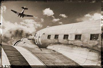 The Douglas DC-3 vliegtuig von Rob van der Teen