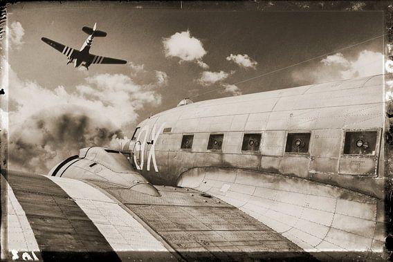 The Douglas DC-3 vliegtuig