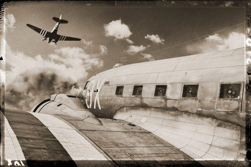 The Douglas DC-3 vliegtuig van Rob van der Teen