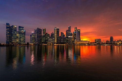 Singapore Sunset van