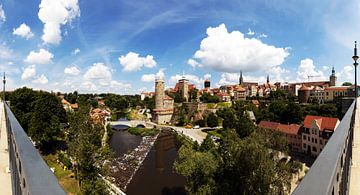 Panorama de la vieille ville de Bautzen