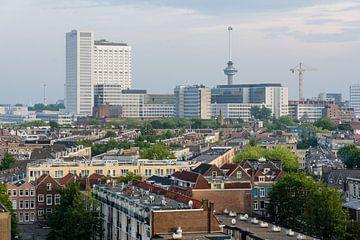 Stadsgezicht Rotterdam met Erasmus Ziekenhuis Netherlands von Martin Stevens