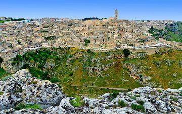 Town of Matera van Leopold Brix