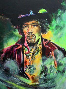 Jimi Hendrix von Lucia Hoogervorst