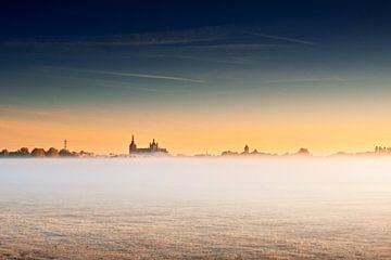 Sonnenaufgang über Den Bosch von Ruud Peters
