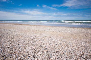 Sommer am Strand von Texel von Matthias van Bloemendaal