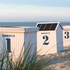 Strandhuisjes van Etienne Oldeman