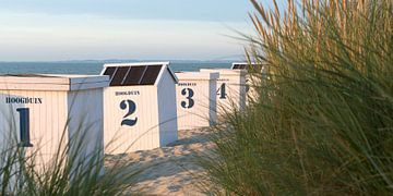 Strandhuisjes von Etienne Oldeman