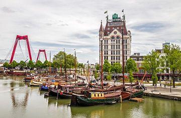 De Oude Haven met het Witte Huis in Rotterdam van MS Fotografie | Marc van der Stelt
