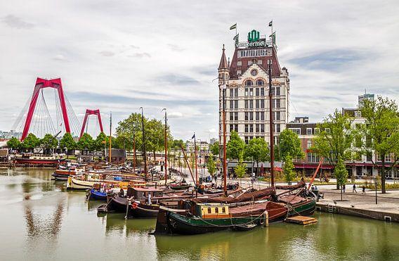 De Oude Haven met het Witte Huis in Rotterdam