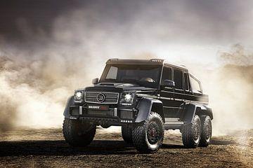 Brabus B63S 700 6x6 (Mercedes) sur