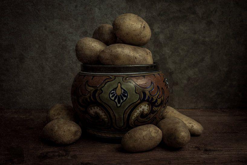 Aardappels stilleven van Gogh van Elly van Veen