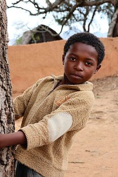 Jongen uit Madagaskar van laura van klooster