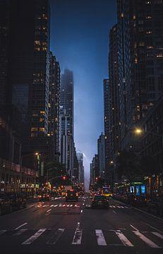 Een koude avond in Manhattan van Joris Pannemans - Loris Photography