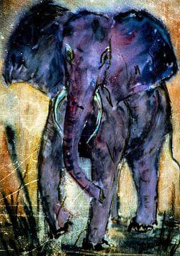 Der blaue Elefant von Christine Nöhmeier