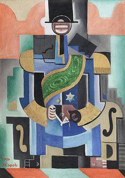 Josef Čapek, Afrikanischer König - 1920 von Atelier Liesjes