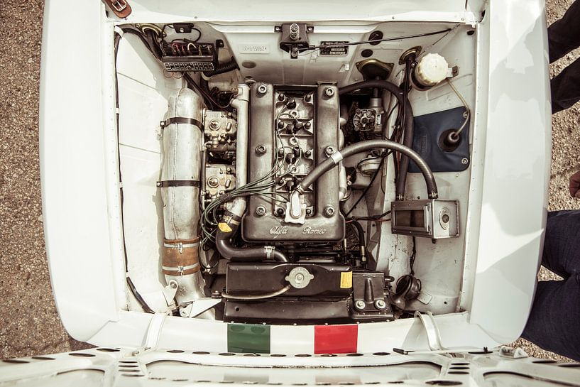Alfa Romeo Giulia Sprint GTA-Motor von Sytse Dijkstra