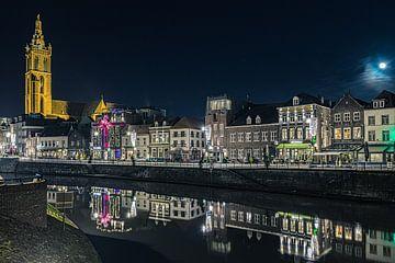 Roerkade, Roermond, Nederland. van Delano Gonsalves