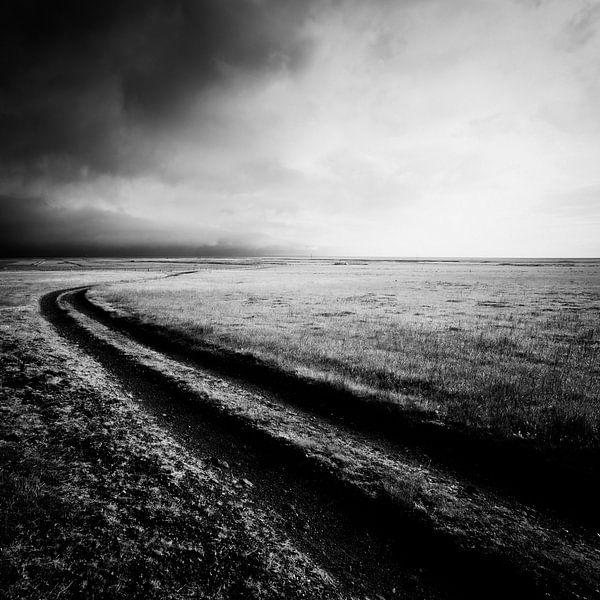Road to nowhere - Iceland van Arnold van Wijk