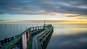 IJsselmeer bij de jachthaven van Edam van