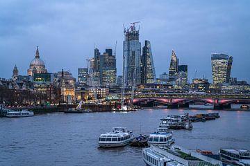 Ligne d'horizon de Londres, Royaume-Uni sur Peter Schickert