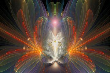 Engel van creatie van Shirley Hoekstra