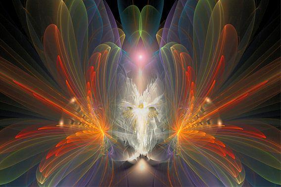 Regenboog Engel van Shirley Hoekstra