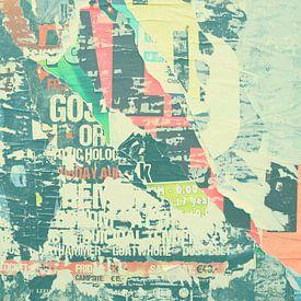 Affiche street art to go van Ina Wuite