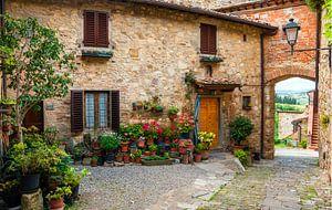 Italie , Toscane van