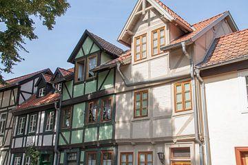 Vakwerkhuizen Quedlinburg van Marrit Molenaar