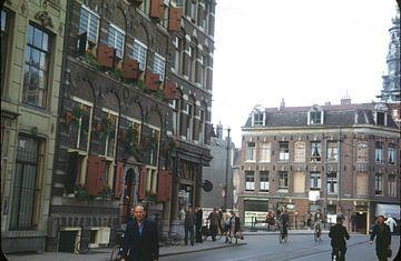 Straßenbild 50er Jahre Amsterdam von Jaap Ros