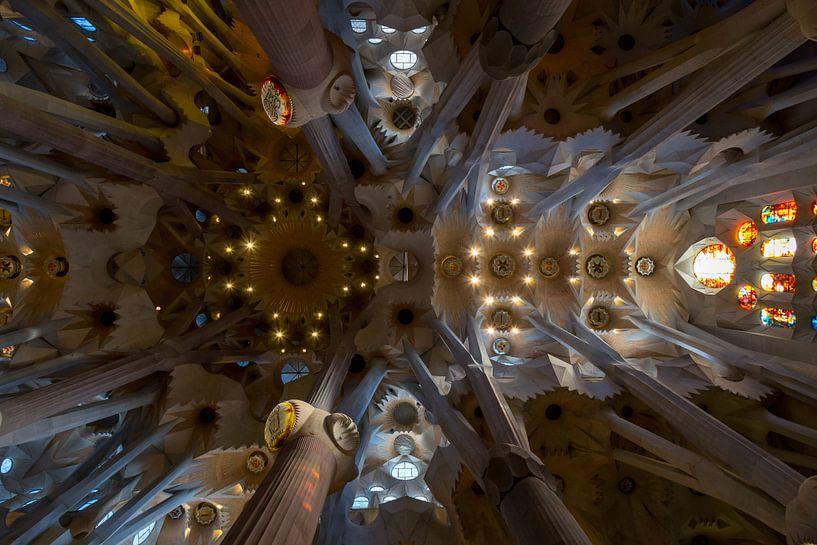 Prachtige Sagrada Familia van Guido Akster