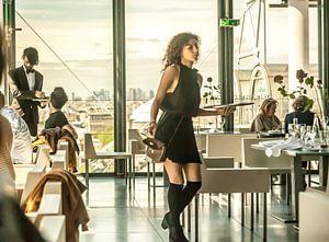 Restaurant Centre Pompidou Paris Paris von Maarten Visser