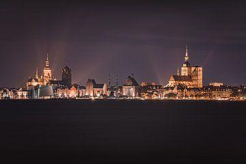 Stralsund am Abend von Sebastian Witt