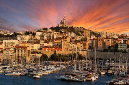 Marseille sunset von Vincent Xeridat