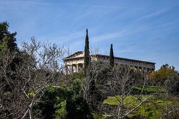 Ruine in Athen, Griechenland von Maartje Abrahams