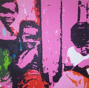 jamaicaanse kinderen van Harry Gijsberts
