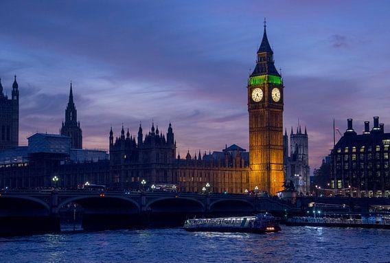 Big Ben Londen van Bjorn Letink