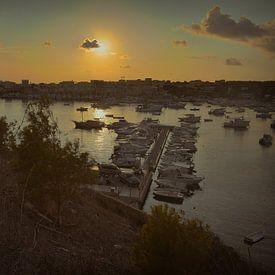 Lampedusa haven 4 van Elianne van Turennout