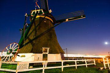 Windmolen van Hazerswoude-Rijndijk van Jack Vermeulen