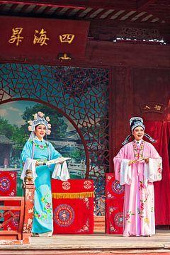 Chinees toneel van Anouschka Hendriks