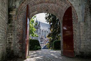The castle of Leiden ...