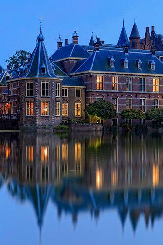 avondopname van het Torentje van de Minister-President in Den Haag van gaps photography